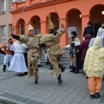 Tradiční masopust v Zubří. Foto: Alexandra Buršíková
