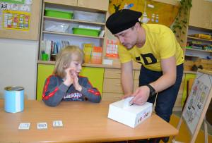 Prokůpek Diviš se do škol těší. Zápisy si proto užil. Foto: Alexandra Buršíková
