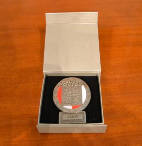 Slavnostní předání služebních odznaků se vůbec poprvé uskutečnilo v obřadní síni radnice. Foto: Alexandra Buršíková