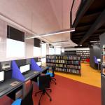 Čtenáři budou od září využívat nové prostory knihovny. Vizualizace: MěÚ Zubří