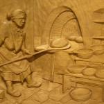 Mistr detailu, účastník mnoha řezbářských sympozií a výstav. To je Karel Chovanec